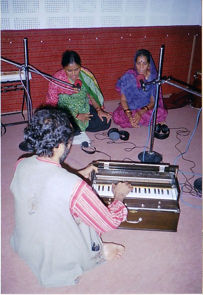 song recording for Bandhni